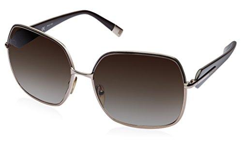 Escada Escada Oversized Sunglasses (Copper) (SES 753|0A47|61) (Brown)
