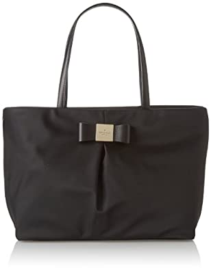 kate spade new york Veranda Place Nylon Small Evie Shoulder Bag,Black,One Size
