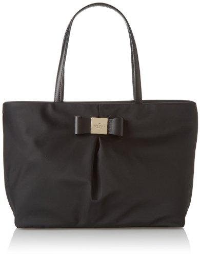 Kate Spade New York Veranda Place Nylon Small Evie Shoulder Bag,Black,One Size front-1056181
