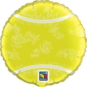 "Single Source Party Supplies - 18"" Tennis Ball Mylar Foil Balloon by Single Source Party Supplies"