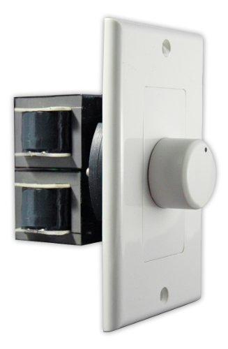 Osd Audio Svc300 300-Watt Decora Style In-Wall Impedance Matching Rotary Volume Control (White, Ivory, Almond)