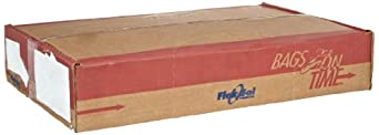 """Flexsol EPL22CLR LDPE Waste Can Liner, 0.45 Mil, 21"""" x 20"""", Roll, Clear (Case of 1,000)"""