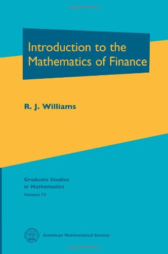 Introduction to the Mathematics of Finance (Graduate Studies in Mathematics, Vol. 72) Picture