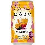 サントリー チューハイ ほろよい 〈カシスとオレンジ〉350ml 缶 350ML × 24缶