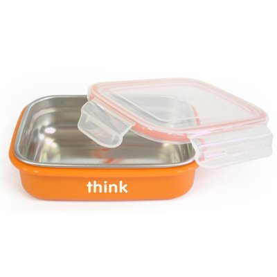 The Bento Box - BPA Free -Orange 2 pack - 1