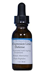 Anti-Aging Expression Line Defense Treatment SERUM w/ Argireline Hyaluronic, Matrixyl 3000, Pepha-Tight, Syn-Ake, SNAP-8, Syn-Coll (Wrinkles, Crow's feet, etc)