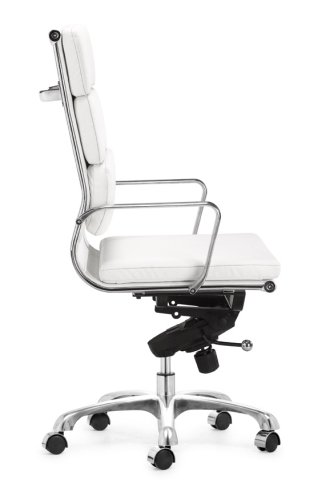 Leatherette Office Chair - Director Hi Back Office Chair - Zuo Modern - 205234
