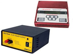 Combo! Thunder Power RC 820CD LiPoly Charger & Rip Max Pro-Peak 270W AC-DC Power Supply