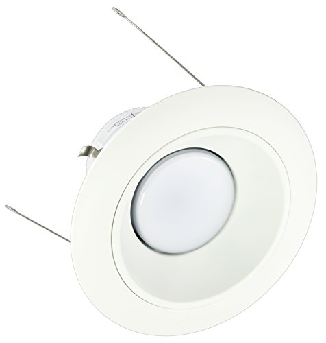 American Lighting X6-Whm-Wh-X56 6-Inch Downlight Trim Kit For X56 Series, White Multiplier, White Trim
