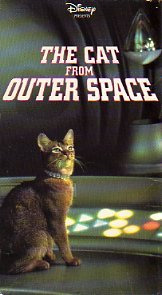 The Cat from Outer Space [VHS]
