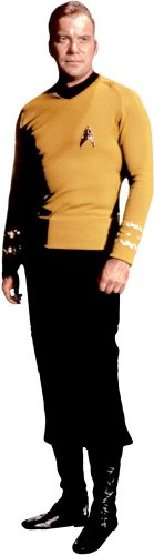 RoomMates RMK1359GM Star Trek Kirk Peel & Stick Giant Wall Decal - 1