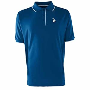 Los Angeles Dodgers Elite Polo Shirt (Team Color) by Antigua
