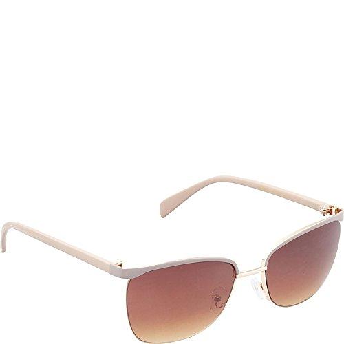union-bay-womens-u535-gldtp-cateye-sunglasses-gold-taupe-60-mm