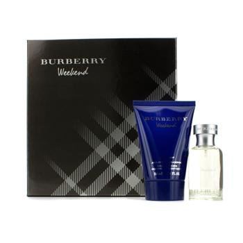 Burberry Weekend Coffret: Eau De Toilette Spray 50ml/1.7oz + All Over Shampoo 100ml/3.3oz 2pcs - Parfum Herren