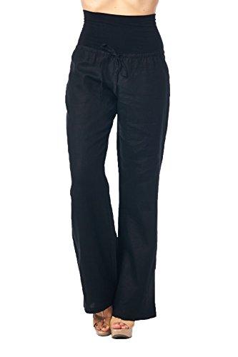 Luxury End Women39s Fashion Miyake Fold Pants Elastic Waist Casual Harem Pants