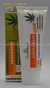 Cannadent - Natural Treatment Toothpaste for Sensitive Gums 75gm