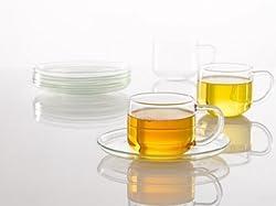 Trendkart, Tableware serving Borosil Cup Saucer set Table Dcor Serving Tea Cup 12 pcs