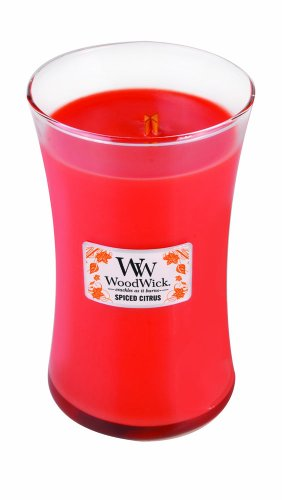 WoodWick Spiced Citrus Large Jar Candle