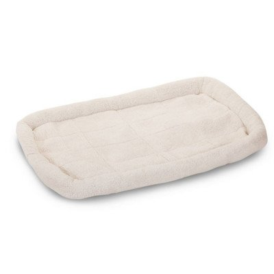 """Cotton Crate Donut Dog Bed Color: Sherpa, Size: Extra Large (48"""" L X 30"""" W) front-41864"""