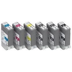 Ink cartridge pfi-102bk black for ipf 500 grafica - 130ml (0895B001) 0895B001