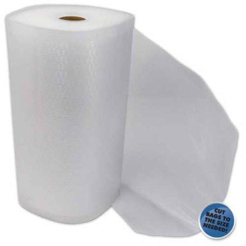 "2 - 15""X50' Vacuum Sealer Rolls Commercial Grade Embossed Vacuum Seal Bags"