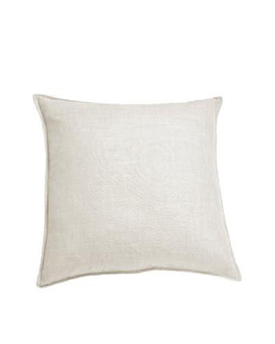 zestt Oxford Throw Pillow, White