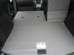 Canvasback Cargo Liner - Fits 2011-2015 Jeep Grand Cherokee - Gray (1 Pc - No Sides) front-173628