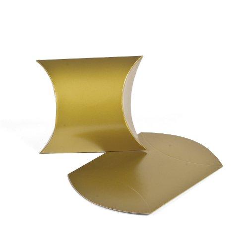 Gold Pillow Boxes (1 dz)