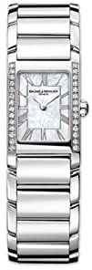 Baume   Mercier Womens 8748 Hampton Cuff Diamond Watch