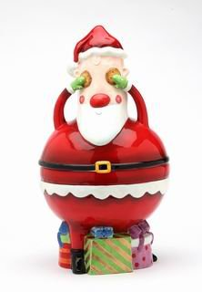 Santa Cookie Jar in the gift exchange