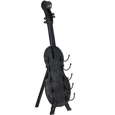 Very cheap wine racks discount cello shaped wood wine rack 41 inch - Cello wine rack ...