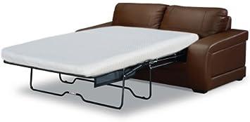 Die Reise ins Ich Luxus Produkte mit Memory Foam Sofa Matratze, Polyester-, weiß, Queen, 72L X 60W x 4,5Stunden