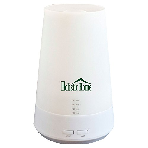 Holistic Home Essential Oil Diffuser Portable Ultrasonic Cool Mist Aromatherapy