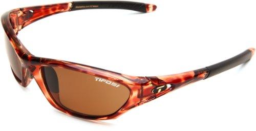 Tifosi Core 0200501050 Polarized Wrap Sunglasses,Tortoise Frame/Brown Lens,One Size