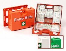 LEINA Erste-Hilfe-Koffer SAN , Inhalt DIN 13169 von LEINA