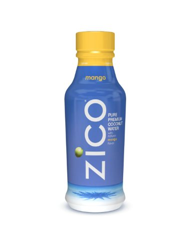 ZICO Pure Premium Coconut Water, Tao Mango, 14oz
