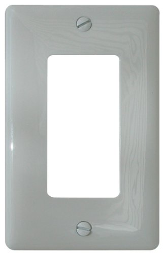 Diamond Group SNAP-13 White Switch Decor Cover - 1