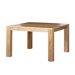 Cuba Solid Oak Small Dining Table Furniture Kitchen Home