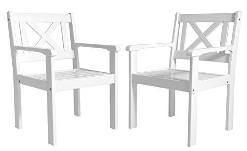 Ambientehome-Garten-Sessel-Stuhl-Massivholz-Gartenmbel-EVJE-Wei-2-teiliges-Set