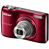 Nikon COOLPIX L26 16.1 MP Digital Camera with 5x Zoom NIKKOR Glass Lens and 3-inch LCD (Red)
