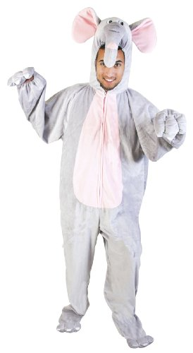 Adult Precious Elephant Costume (Size: Standard 44)