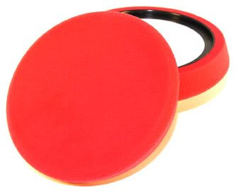 Chemical Guys Bufx_107 - Self-Centered Micro-Fine Finishing Pad, Red (7.5 Inch) front-284060