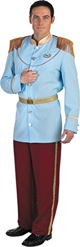 Morris Costumes Men's PRINCE CHARMING PRESTIGE ADULT, 42-46