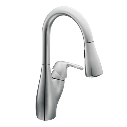 Moen 7599C Medora One-Handle High Arc Pulldown Kitchen Faucet, Chrome