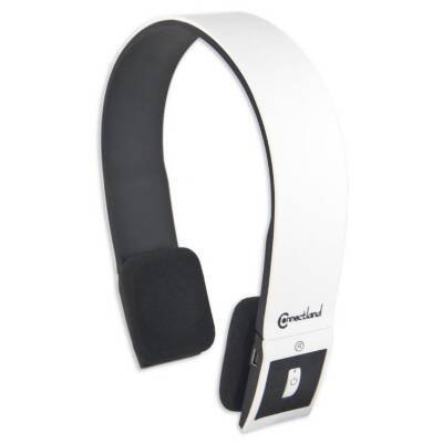 Syba Cl-Aud23029 Bluetooth V2.1 Edr Stereo Headset With Microphone Sleek And Modern Edge Design Color White/Black