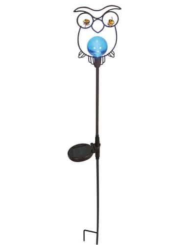 Näve Leuchten Lámpara Solar Mateo Azul 5 x 15 x 105 cm