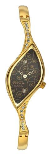 Titan Raga Analog Olive Dial Women's Watch - NC9710YM02J