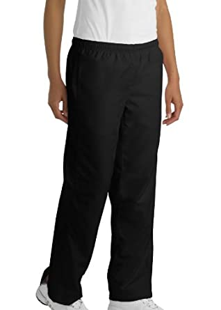 Ladies 5-in-1 Performance Straight Leg Warm-Up Pant, Color: Black, Size: Large
