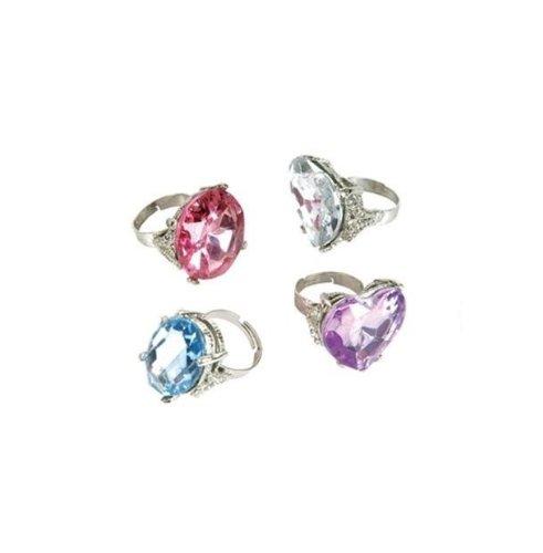 Imitation Giant Diamond Rings (1 dz)