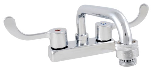 LDR 011 5280 Laundry Faucet, Heavy Duty, Double Handles, Vacuum Breaker, Chrome (Utility Sink Faucet Aerator compare prices)